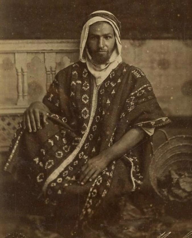 Algerian man, 1800s
