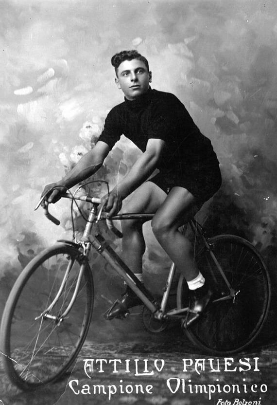 Attilio Pauesi, CampioneOlimpionico