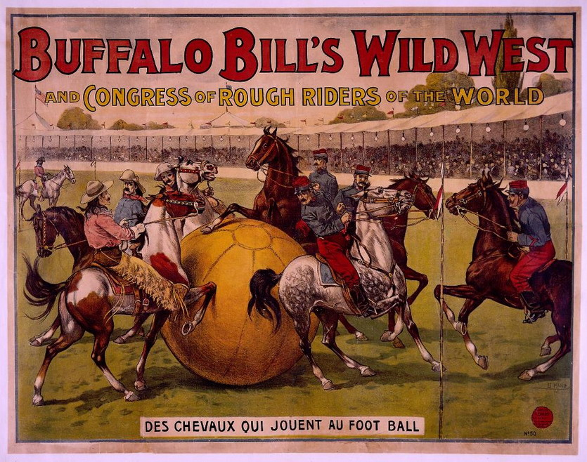 Buffalo Bill's Wild West Show, France, 1800s