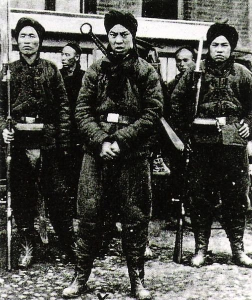Boxer Rebellion, China,1900