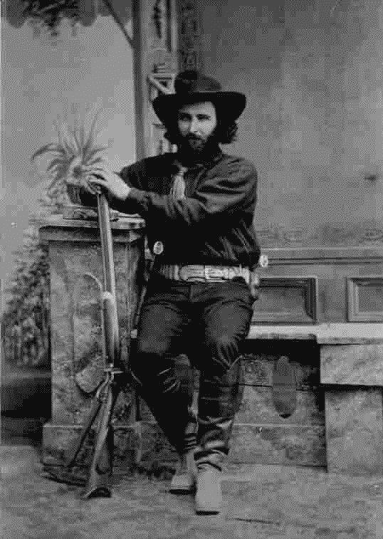 Cowboy, Tombstone, Arizona, 1800s