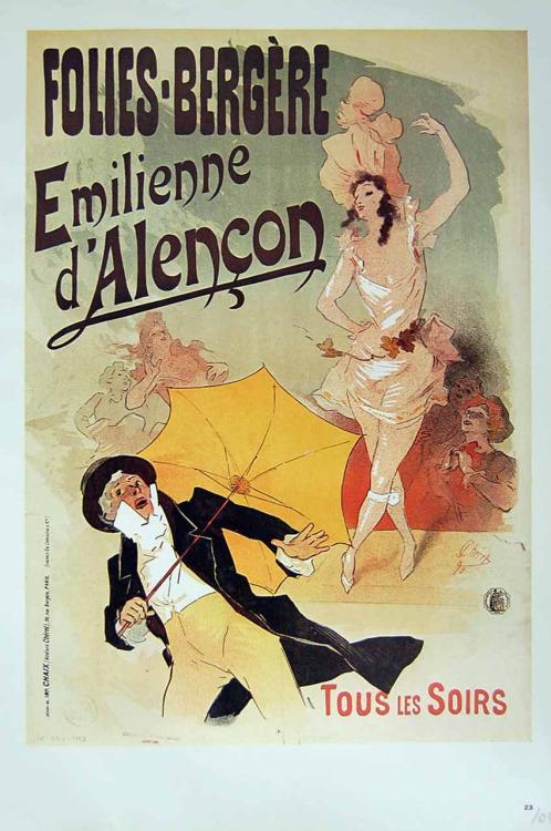 Folies-Bergere, 1800s
