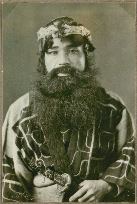 Ainu Man, Northern Japan, 1901