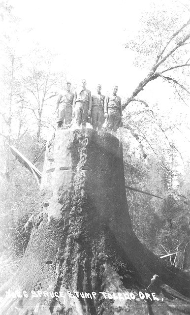 Lumberjacks, Oregon, circa 1910