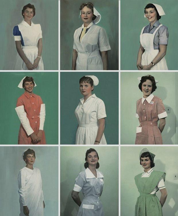 Nurses, circa 1950