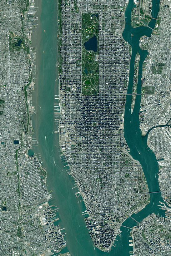 Manhattan, NYC from above