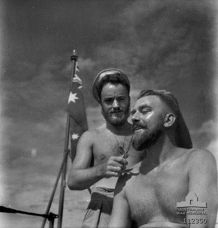 Australian sailors, WWIIera