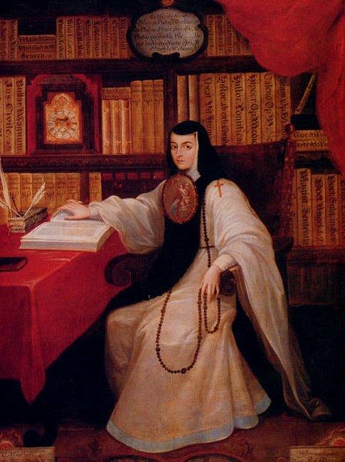 """""""Sor Juana Ines de la Cruz"""" (Mexican writer) by MiguelCabrera"""