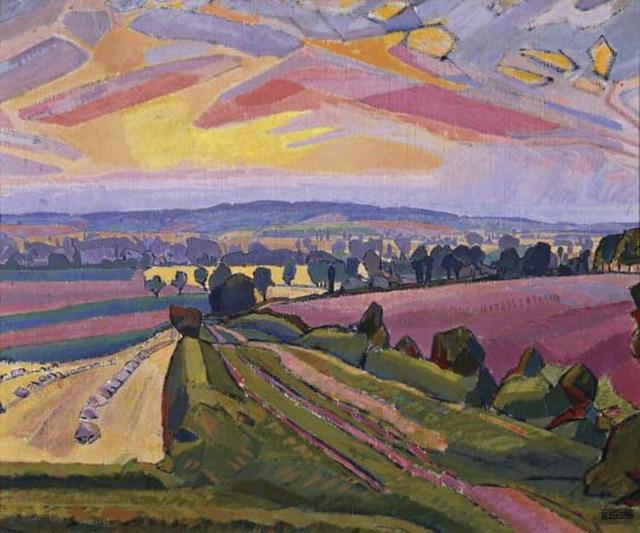 """""""The Icknield Way"""" by Spencer Gore, UK,1912"""