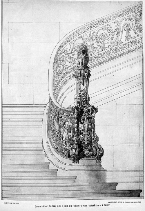 Staircase newel and banisterdesign