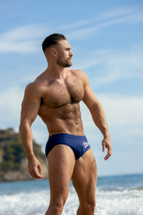 Swimwear model at the beach