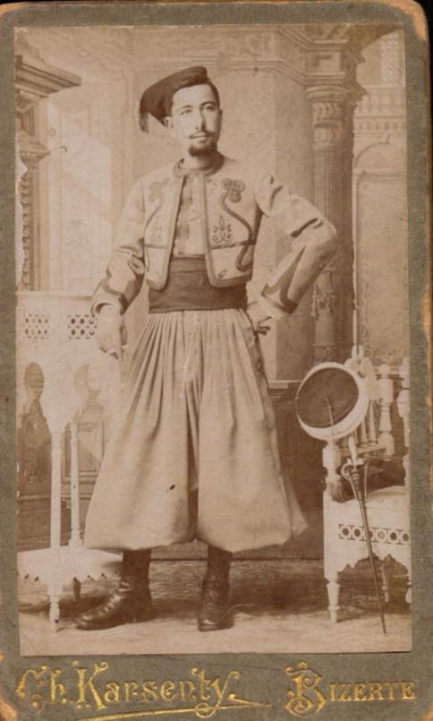 Tunisian man, 1800s