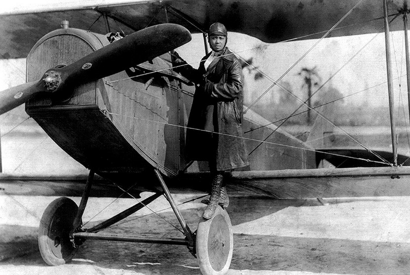 Early African-American Aviation Pioneer