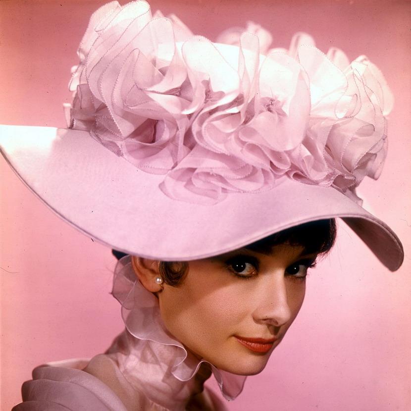 "Audrey Hepburn in ""My Fair Lady"",1964"