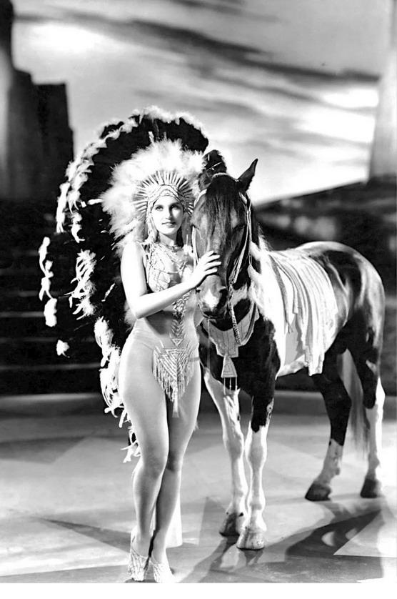 Ziegfeld Follies cowgirl