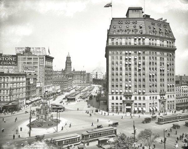 Detroit, 1916