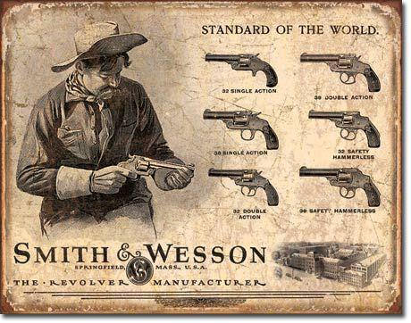 Smith and Wessonrevolvers