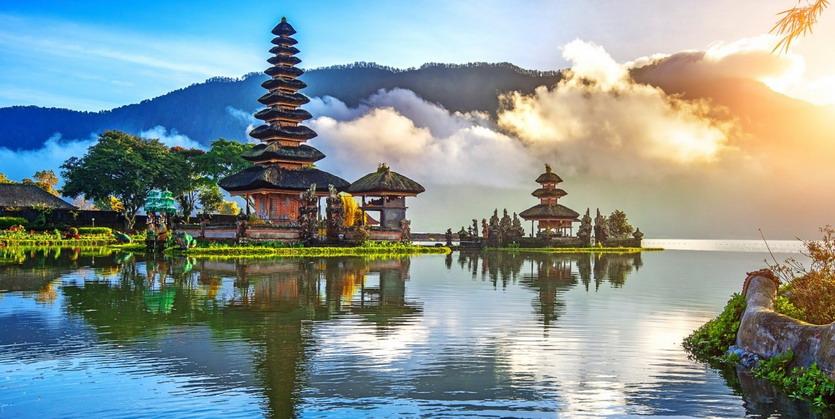 Pura Ulun Danu Bratan Temple, Bali,Indonesia