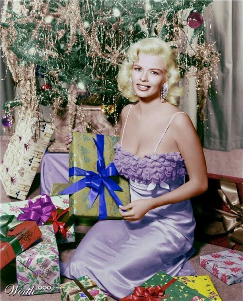 Merry Christmas from Jayne Mansfield,1950s