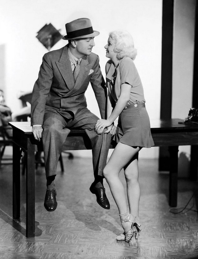 William Powell and Jean Harlow, 1930s