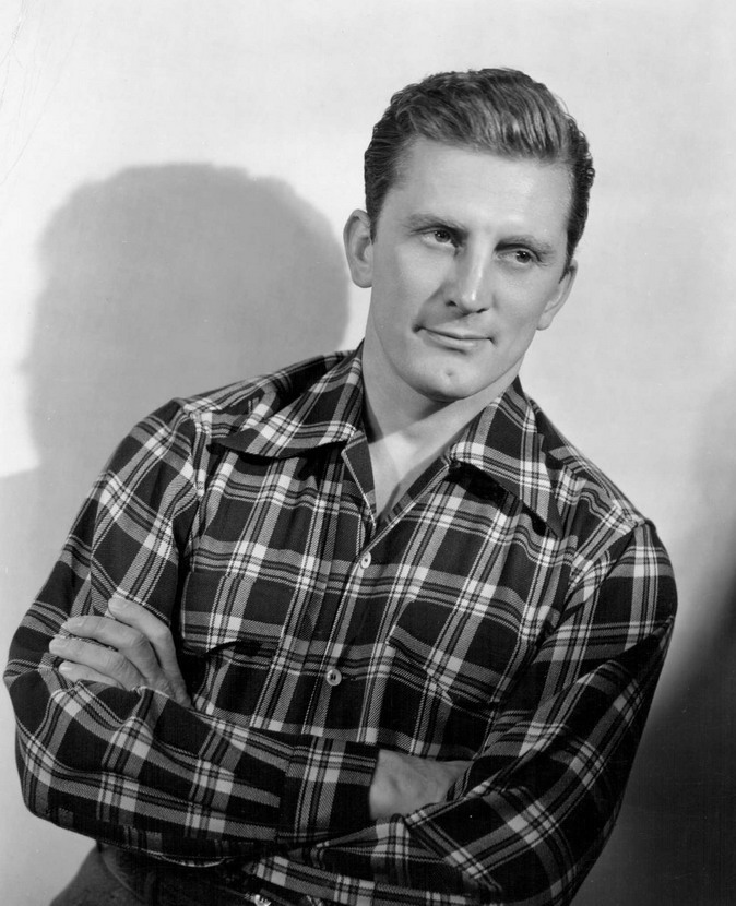 Kirk Douglas, 1940s (he's still alive and today is his 103rdbirthday!)