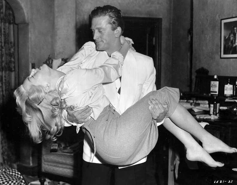 Lana Turner and KirkDouglas