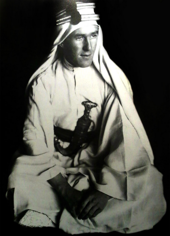 T.E. Lawrence (Lawrence of Arabia),1919