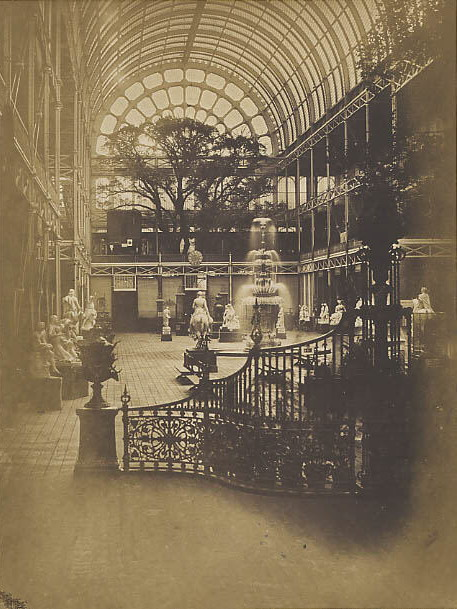 Interior of the Crystal Palace, London,1851