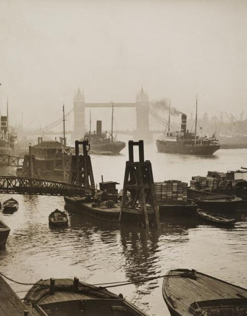 Thames River, London, circa1900