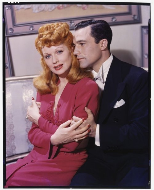 Lucille Ball and Gene Kelly, 1940s
