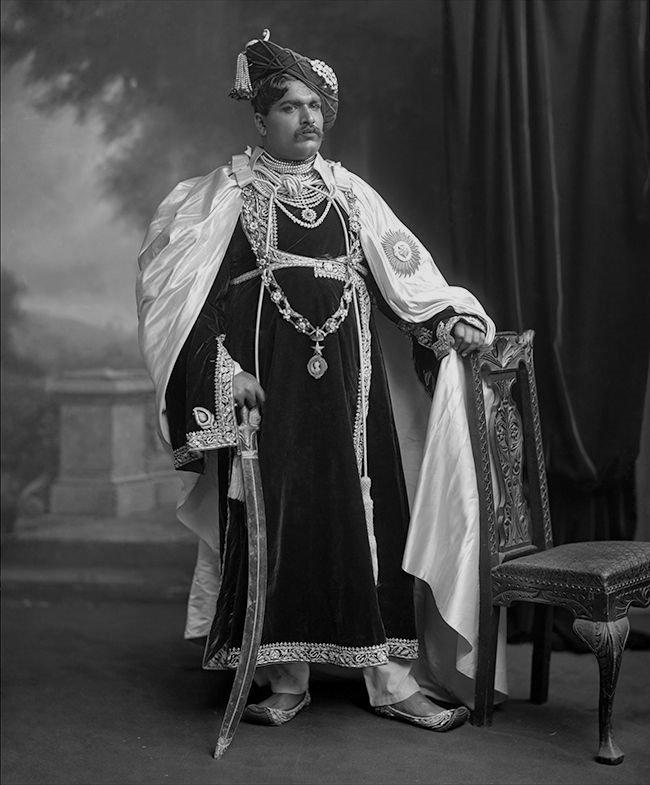 The Maharaja ofKolhapur