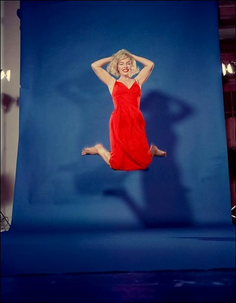 Marilyn Monroe by Philippe Halsman,1959