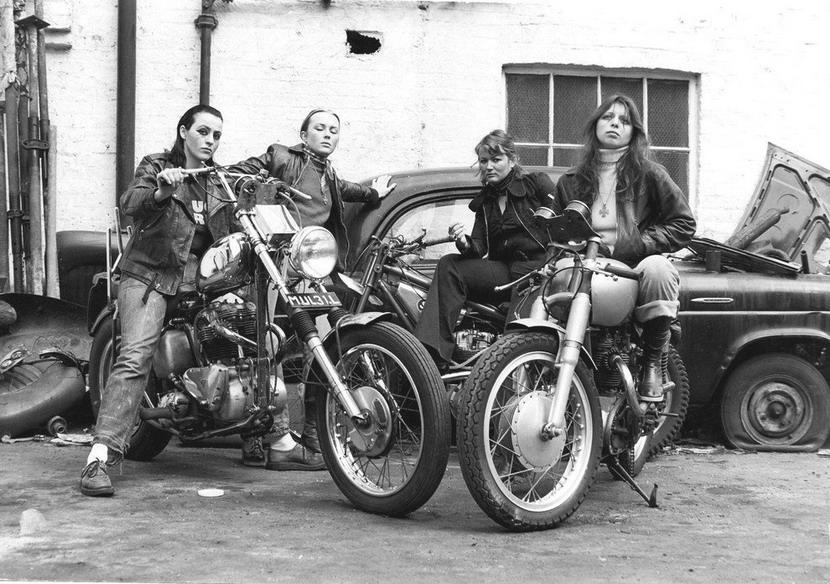 Biker chicks, California, circa1970