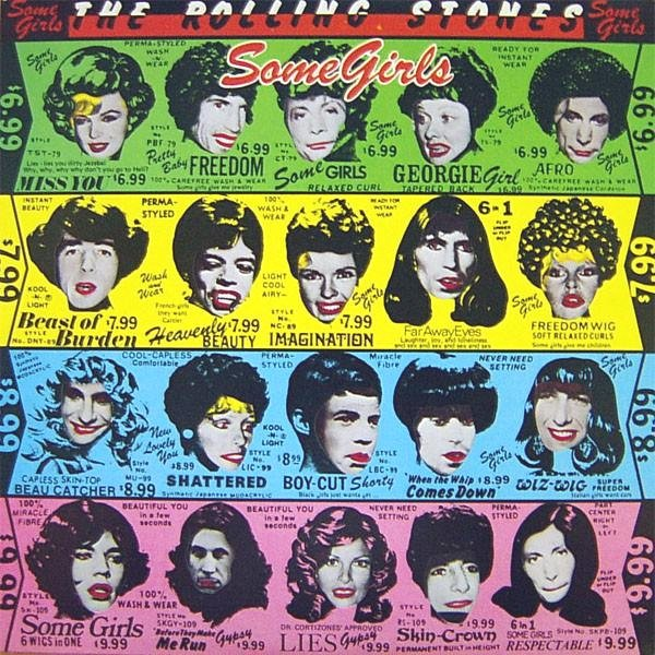 "Rolling Stones ""Some Girls"", 1980"