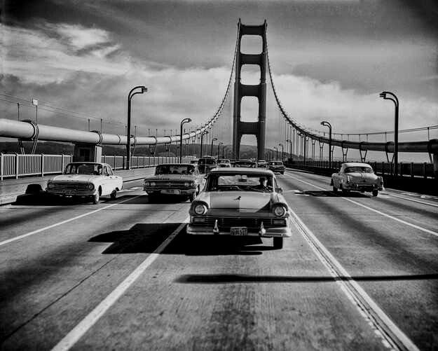 Golden Gate Bridge, San Francisco,1950s