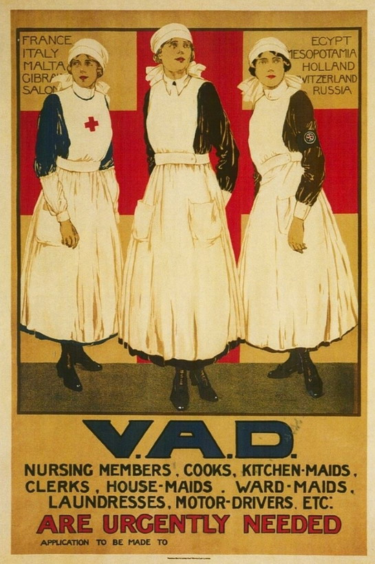 Recruitment poster for women,WWI