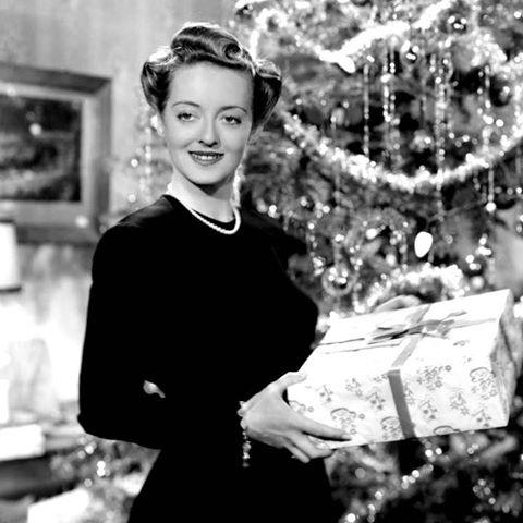 Merry Christmas from Bette Davis, circa1940