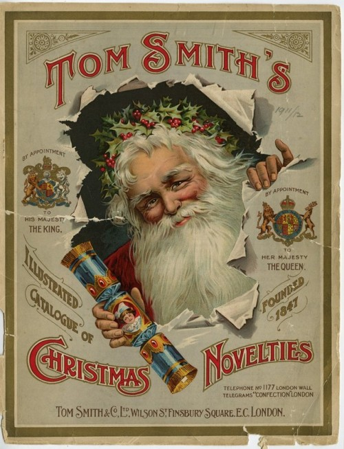 Tom Smith's Illustrated Catalogue of Christmas Novelties, London,1800s
