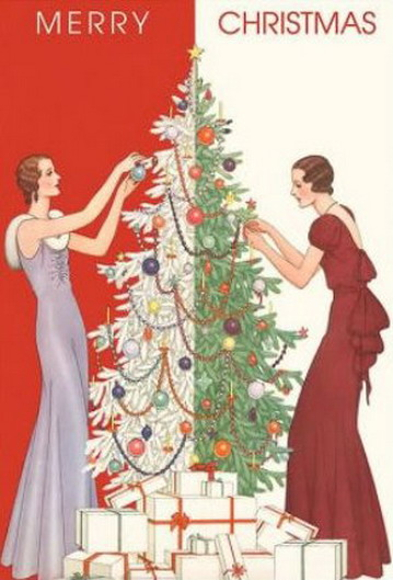 Merry Christmas, 1920s