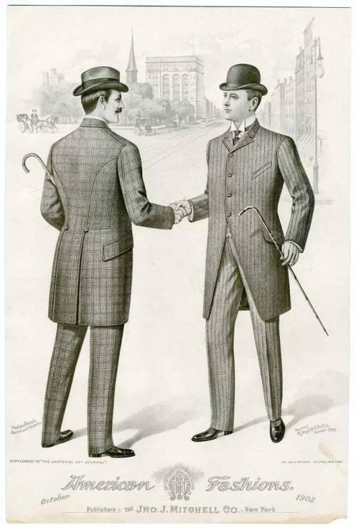 American Fashions, NYC,1902