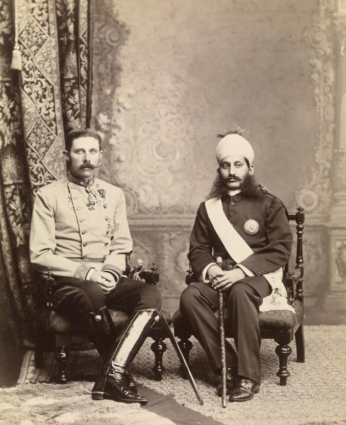 Archduke Franz Ferdinand in India,1892