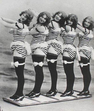 burlesque 1907