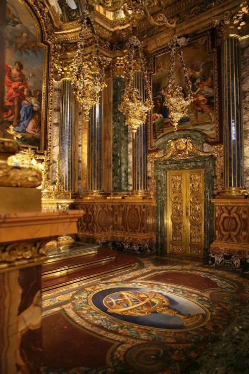 Chapel of Saint John the Baptist at religious Saint Roch Church. Lisbon
