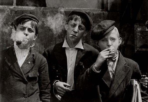 Kids, smoking