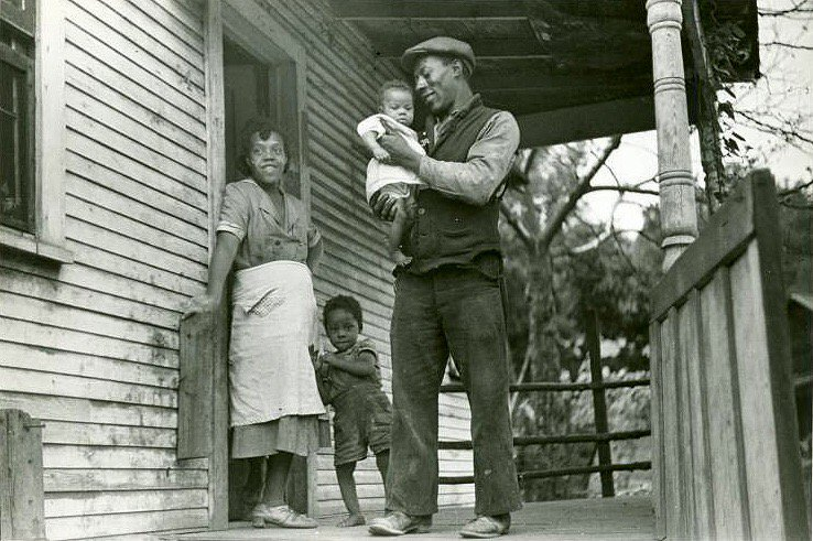 Coal miner and his family, West Virginia