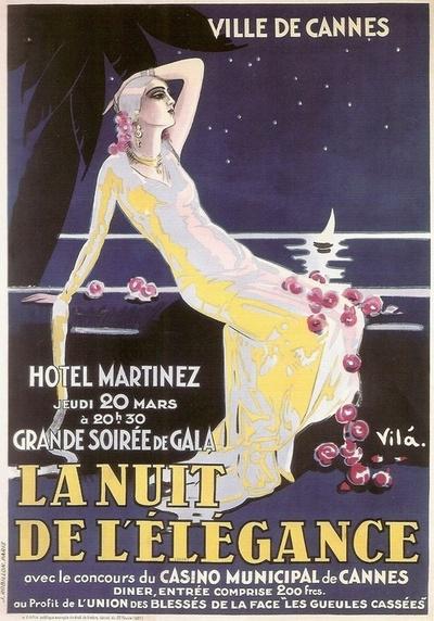 La Nuit de l'Elegance, Hotel Martinez, Cannes,France
