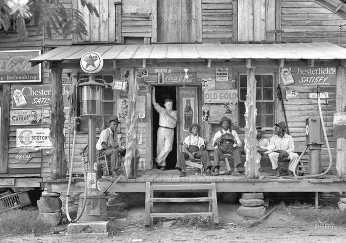 General store, North Carolina, 1939