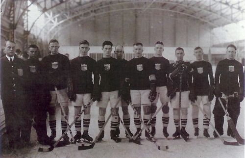 US national hockey team, 1920