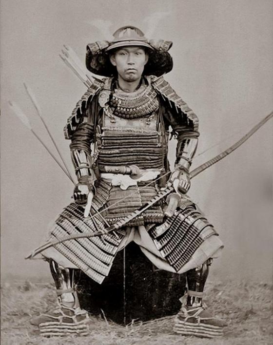 JAPAN Samurai, Nagasaki 1860s by Ueno Hikoma