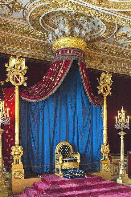 Emperor Napolean's throne